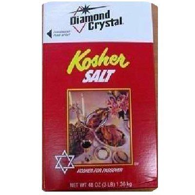Diamond Crystal Kosher Salt, 3 Pound (Pack of 12) by Diamond Collection