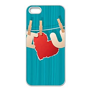 I Love You blue background personalized high quality cell phone case for Iphone 6 plus 5.5