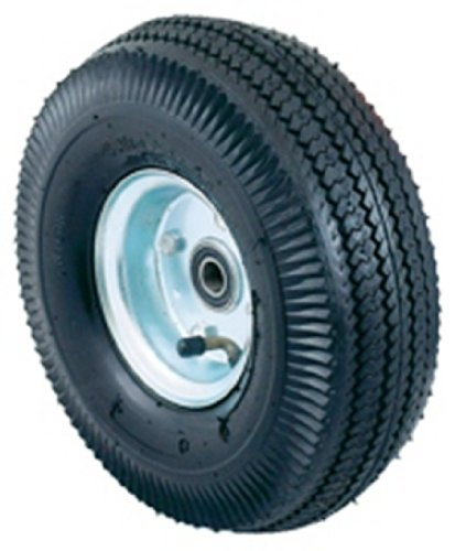 Harper Trucks Pneumatic Hand Truck Wheel with Ball Bearings and Steel Hub, 10
