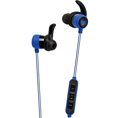 Large Product Image of JBL Reflect Mini Bluetooth in-Ear Sport Headphones, Blue