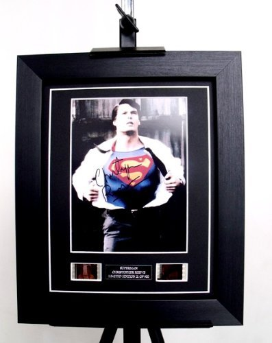 Superman Signed + Original Christopher Reeve Film Footage Limited Edition -