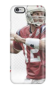 Christmas Gifts 7623103K59173097 Hot Tom Brady Tpu Case Cover Compatible With Iphone 6 Plus