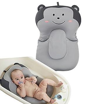 Amazon.com: FUHUY - Cojín de baño para bebé, esponja ...