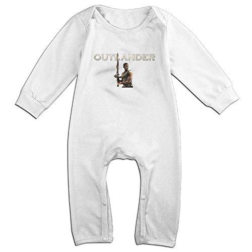 MoMo Outlander Poster KidsToddler Romper Bodysuit Outfits 18 Months White -