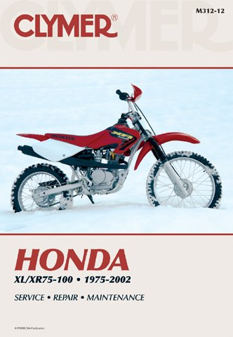 SERVICE MANUAL - HONDA CR125 (92-97), CR250R (92-96), Manufacturer: CLYMER, Manufacturer Part Number: M457-2-AD, Stock Photo - Actual parts may vary. Cr125 Stock