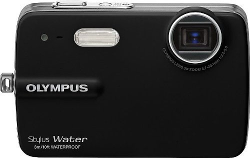Olympus Stylus 550WP 10MP Waterproof Digital Camera with 3x Optical Zoom and 2.5-inch LCD (Black) by Olympus (Image #3)