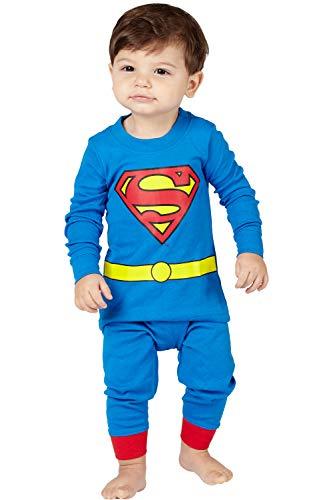 DC Comics Baby Boys' Superman 2 Piece Cotton