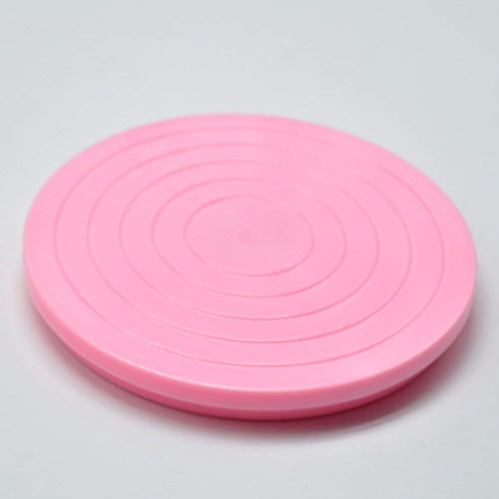 Housewares Cake Decorating Turntable Stand Pink