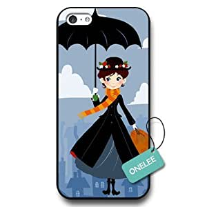 diy phone caseOnelee(TM) - Personalized Mary Poppins Black Plastic ipod touch 5 Case & Cover - Black 12diy phone case