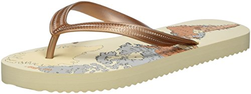 Sombrero flip World flop Beige Tongs Original Femme CrAYxwrq