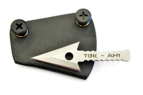 Kydex Sheath Spear Point (Thunder Basin Knives Survival Arrowhead and Kydex Sheath. 440 Stainless.)