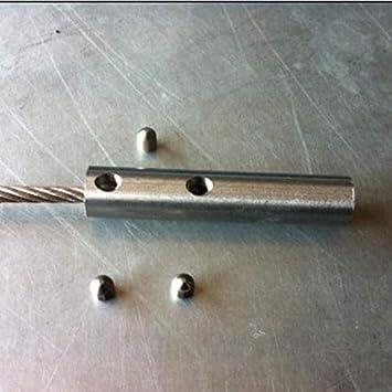 Lote de 20/Tensor de cable acero inoxidable 316/di/ámetro 5/mm