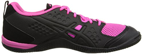 Asics Womens Gel Fortius Tr Scarpa Cross-training Nero / Bianco / Knock Out Rosa