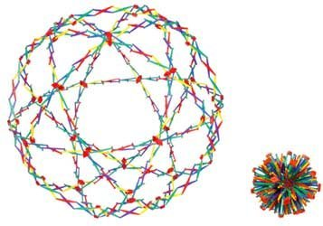 Hoberman Original Sphere--Rainbow (Discontinued by manufacturer)