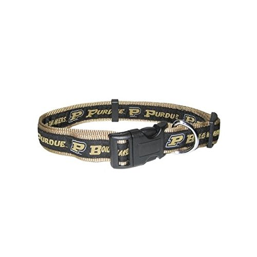 Pets First Purdue University Team Pet Dog Collar Large
