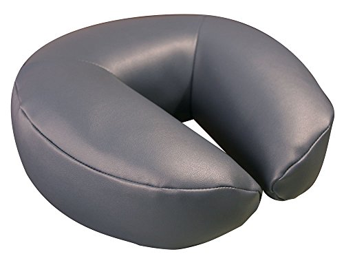 Espresso Upholstery - Oakworks 37378-T27 Aero-Cel Face Rest Crescent, Espresso Upholstery