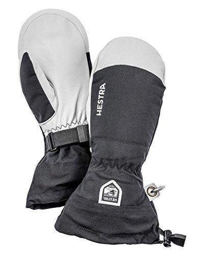 Hestra Gloves 30571 Army Leather Heli Ski Mitt, Black - 5 by Hestra