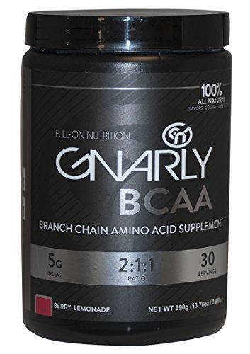 Gnarly BCAA 100% Natural Berry Lemonade 30/Serv by Gnarly Nutrition