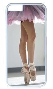 Ballet Dancer DIY Hard Shell White Best Fashion iphone 6 plus Case