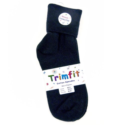 Trimfit Children's Comfortoe Cotton/Lycra Anklet Sock ()