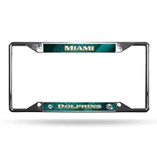 hrome Plate Frame (Miami Dolphins Chrome Auto)