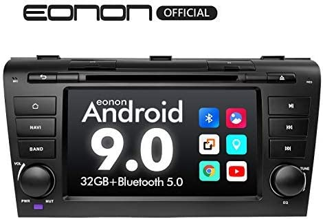 2020 Double Din Car Stereo Android Radio, Eonon Android Head Unit 7 Inch Car Stereo Applicable to Mazda 3 2004-2009 Support Carplay Android Auto Bluetooth 5.0 Fast Boot DVR Backup Camera OBDII-GA9351