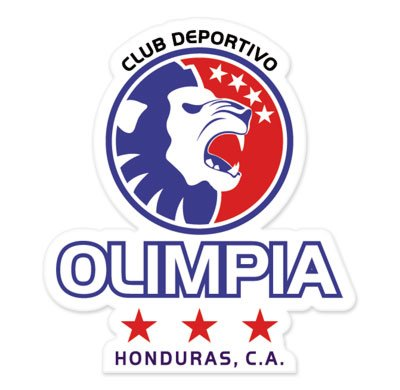 CD Olimpia - Honduras Football Soccer Futbol - Car Sticker - 5""
