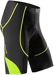 Santic Cycling Men's Shorts Biking Bicycle Bike Pants Half Pants 4D Coolmax Padded GEN