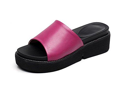 1 Basse Moda Pengweipattini Estate Scarpe Delle Casual Pantofole Con Spessa Di Signore aPnac1p