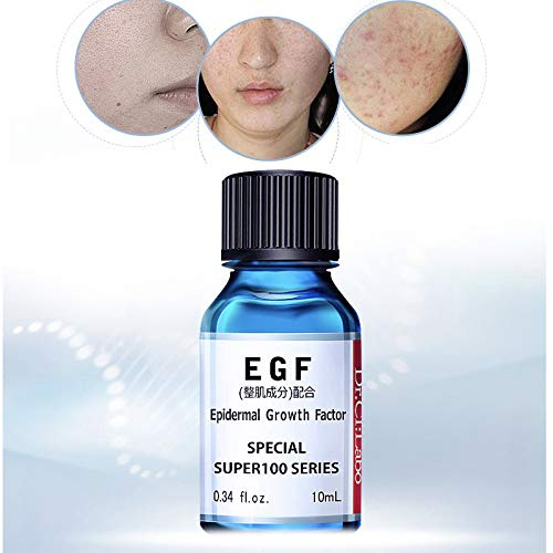 Dr. Ci: Labo EGF Epidermal Growth Factor, Special Super 100 Series, Repair Essence-Advanced Skin Repair, Acne Scar Removal, Smooth & Even & Brightening Skin, 10ml