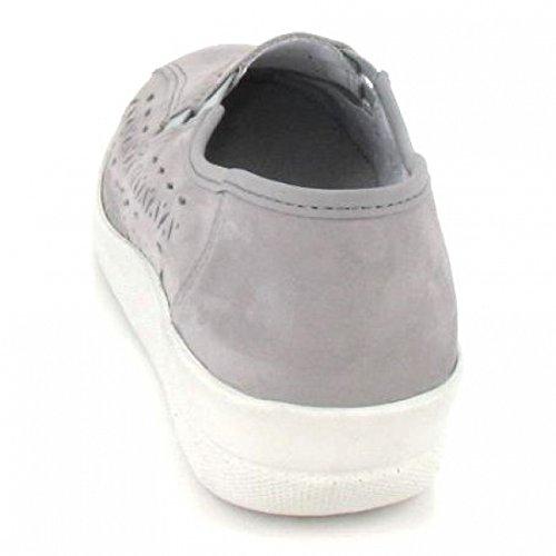 ACO Slipper Becas, Farbe: Grau