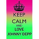 KEEP CALM AND LOVE JOHNNY DEPP REFRIGERATOR MAGNET FRIDGE MAGNET