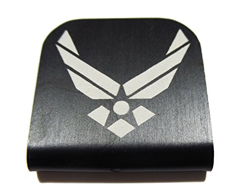 - Air force Morale Tags Hat Clip for Tactical Patch Caps (Black)