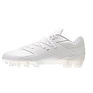 adidas Performance Men's Freak X Carbon Low Football Shoe, White/White/White, 8 M US