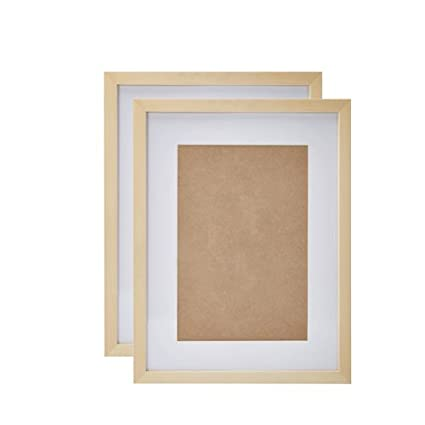 Amazon.com - NohaRin 13x17 inch Simple Style Thin Wood Picture ...