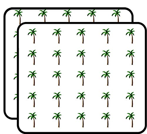 (Palm Tree Tropical Sticker for Scrapbooking, Calendars, Arts, Kids DIY Crafts, Album, Bullet Journals 50)