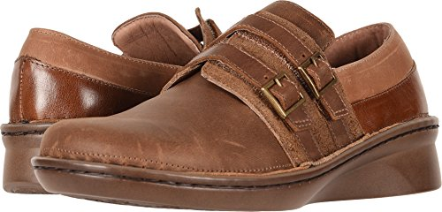 Brown Saddle Celesta Leather NAOT Combo Oxfords Women's IP7twAx