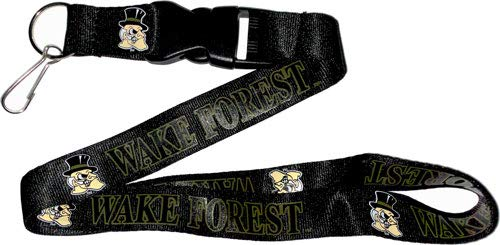aminco NCAA Wake Forest Demon Deacons Team Lanyard from aminco