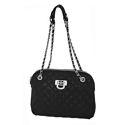 OBC Only-Beautiful-Couture - Bolso de asas para mujer Negro negro 30x23x6 cm (BxHxT) negro