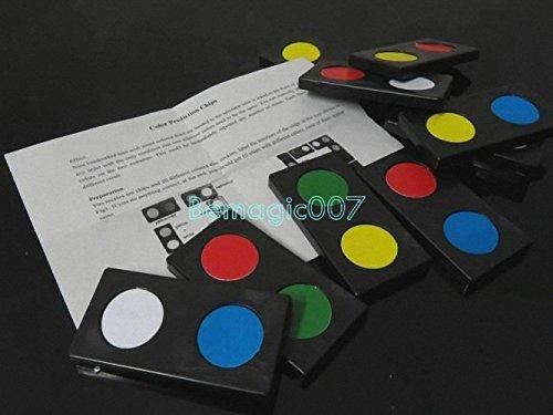 Color Prediction Chips - Mentalism Magic Tricks
