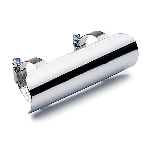 Cobra Universal Heat Shields - Color : Chrome - Size : 2-1/4' Cobra Exhaust TRTD4333