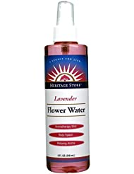 Heritage Store Lavender Flower Water, 8 Ounce