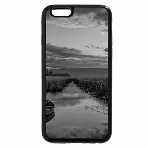 iPhone 6S Plus Case, iPhone 6 Plus Case (Black & White) - Tha little boathouse