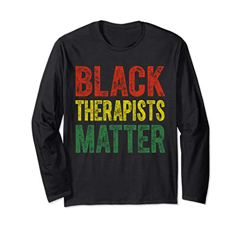 Black Therapists Matter T-Shirt Black Pride Gift Shirt from Black Therapists Matter Tee Shirts