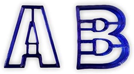 Cortador de galletas con letras inglesas (elige tu letra), May ...