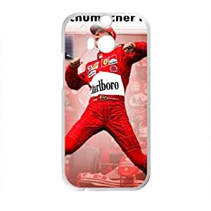 Happy Michael Schumacher F1 Phone Case for HTC One M8