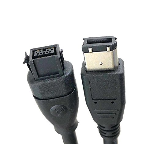 Micro Connectors, Inc. 6 feet Firewire Cable 1394B 9 Pin to 6 Pin (E07-238) by MICRO CONNECTORS