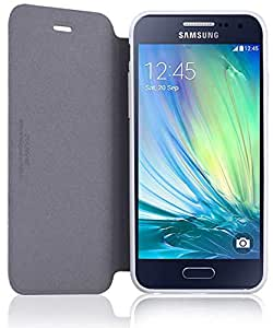 FIB Color Samsung Galaxy A5 A500 Premium Flip Case - White