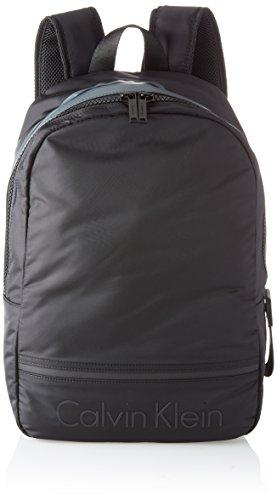 Calvin Klein Matthew 2.0 Backpack, Mochilas Hombre, Negro (Black), 16x41x30 cm (B x H T)