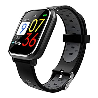 LYXLQ Fitness Tracker Smart Wrist Intelligent Bracelet Fitness Tracker Band Pedometer Wristband Blood Pressure Heart Rate Monitor Estimated Price £40.99 -